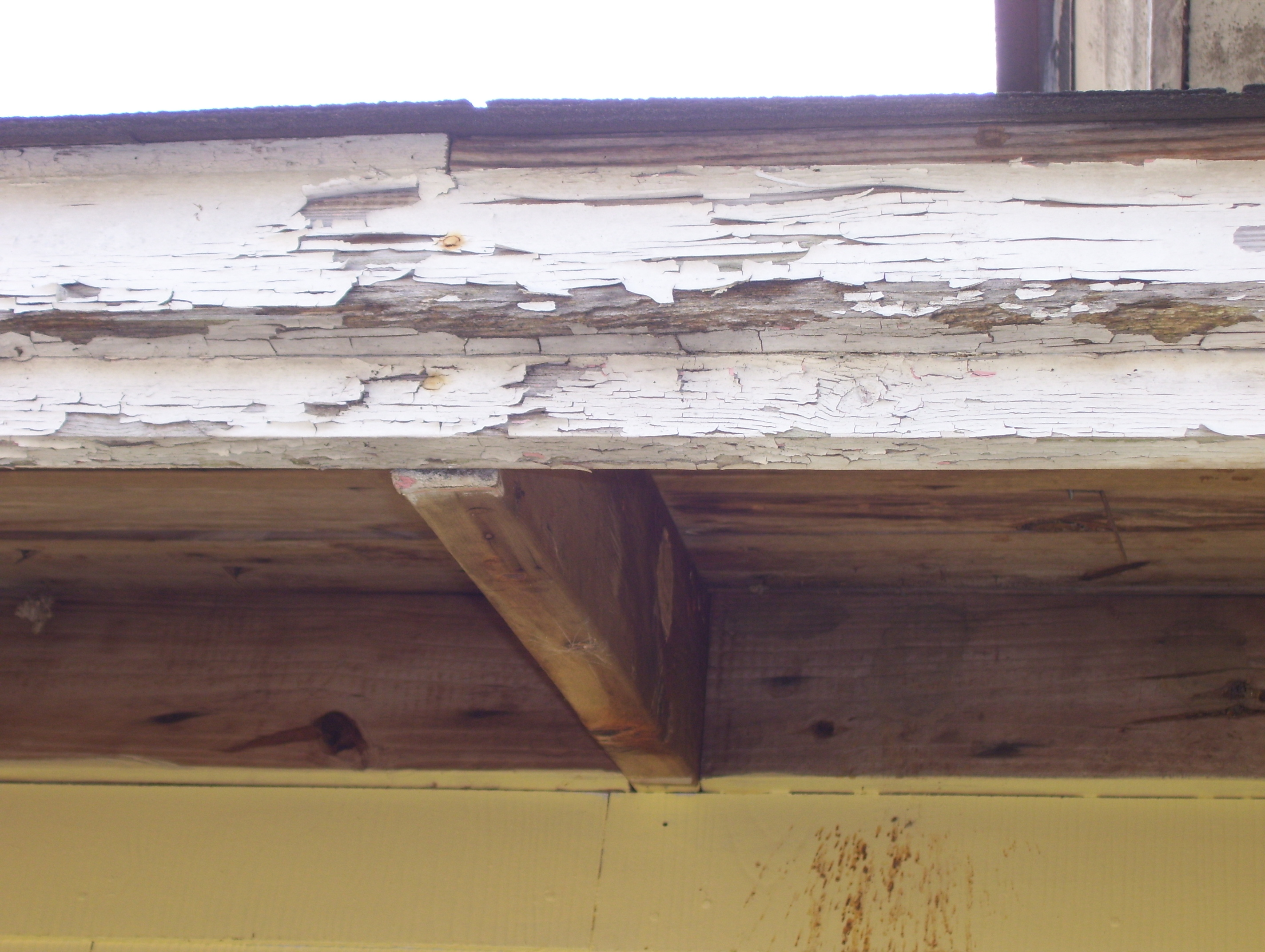 peeling paint and fha loan