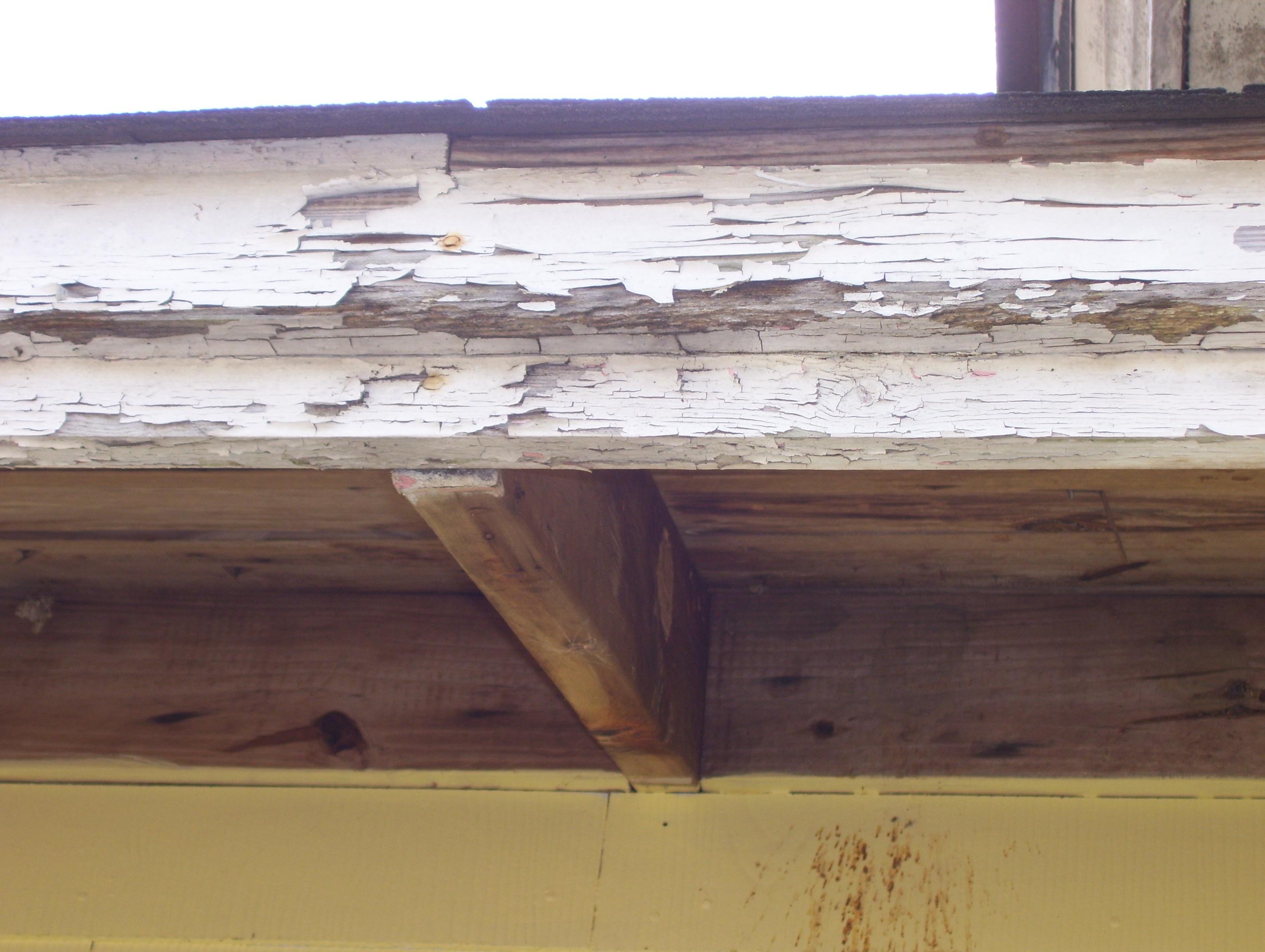 peeling paint and fha loan