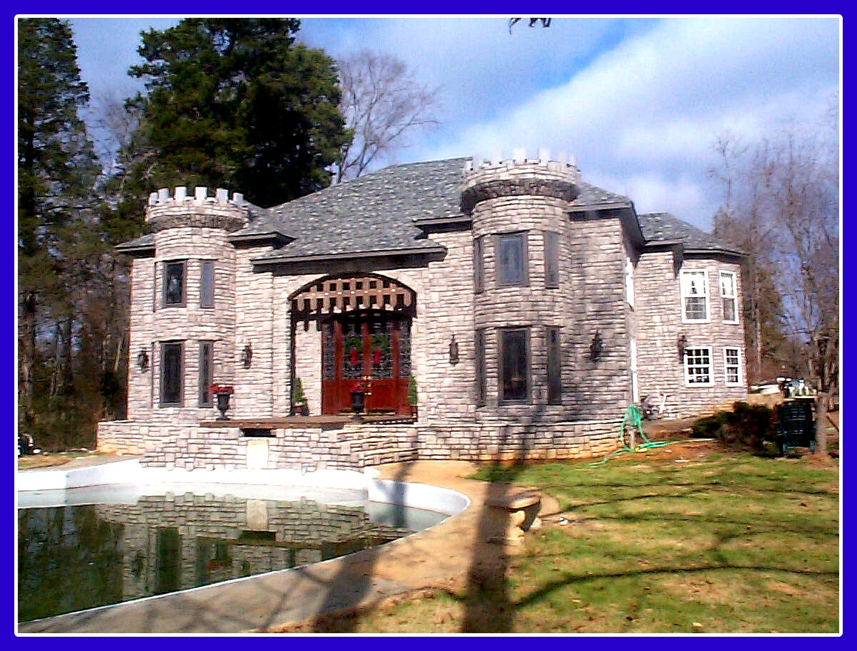 A man 39 s home is his castle right birmingham appraisal blog for Castle style homes