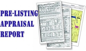 pre listing appraisal report 300x177 5 Reasons Why A Realtor Should Order An Appraisal Before Listing A House