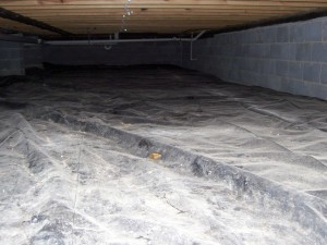 Are vapor barriers required in an FHA appraisal