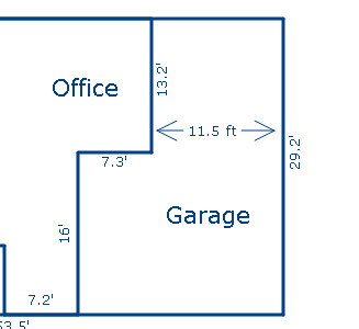 garage too small