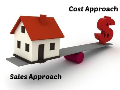 sales comparison approach vs cost approach