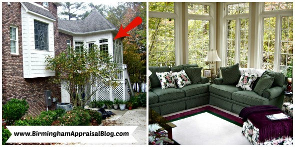 sunroom 2 590x295 Can a sunroom be included in the gross living area of a home?