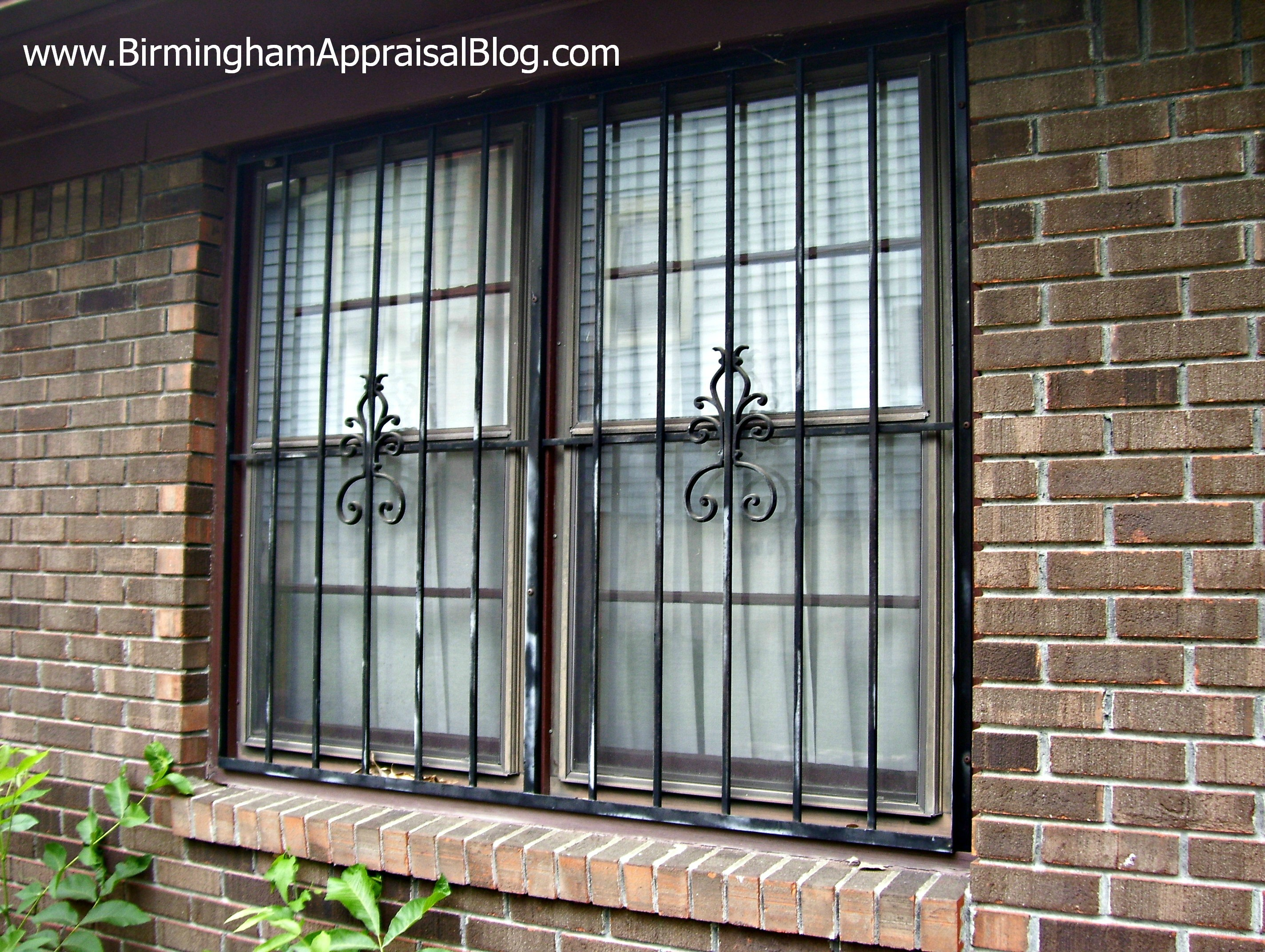 Burglar Bars For Windows : What is the fha rule for security bars birmingham