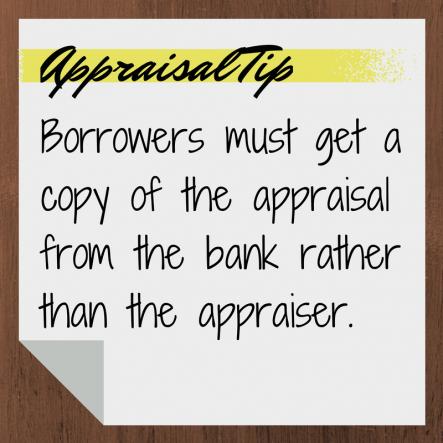 Appraisal Tip