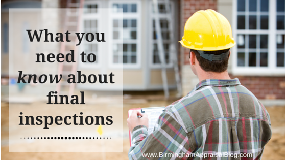 What you need to know about final a final inspection