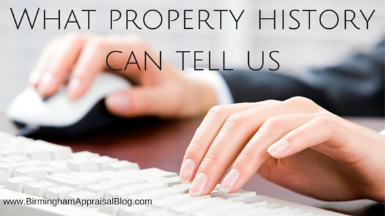 What property history can tell us