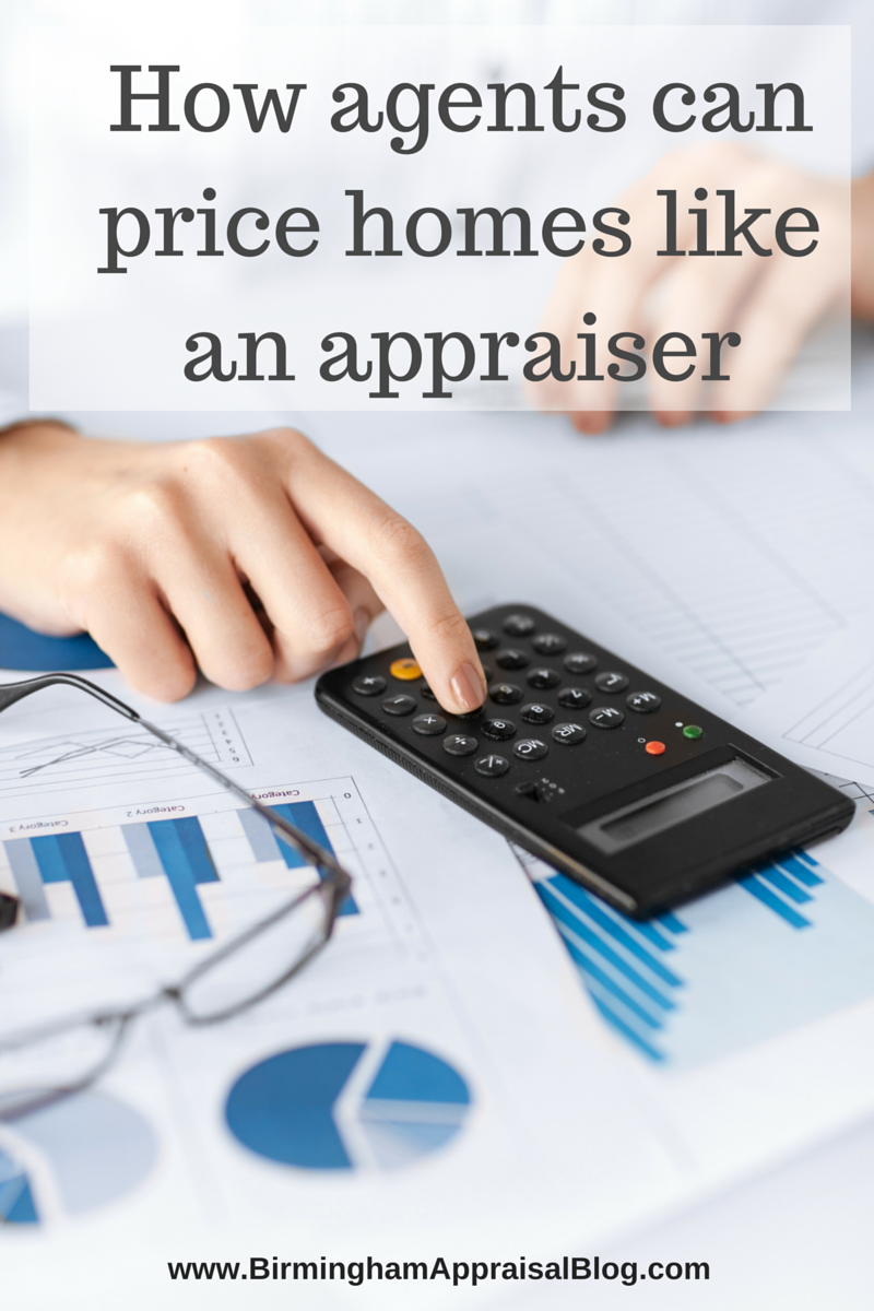 How agents can price homes like an appraiser