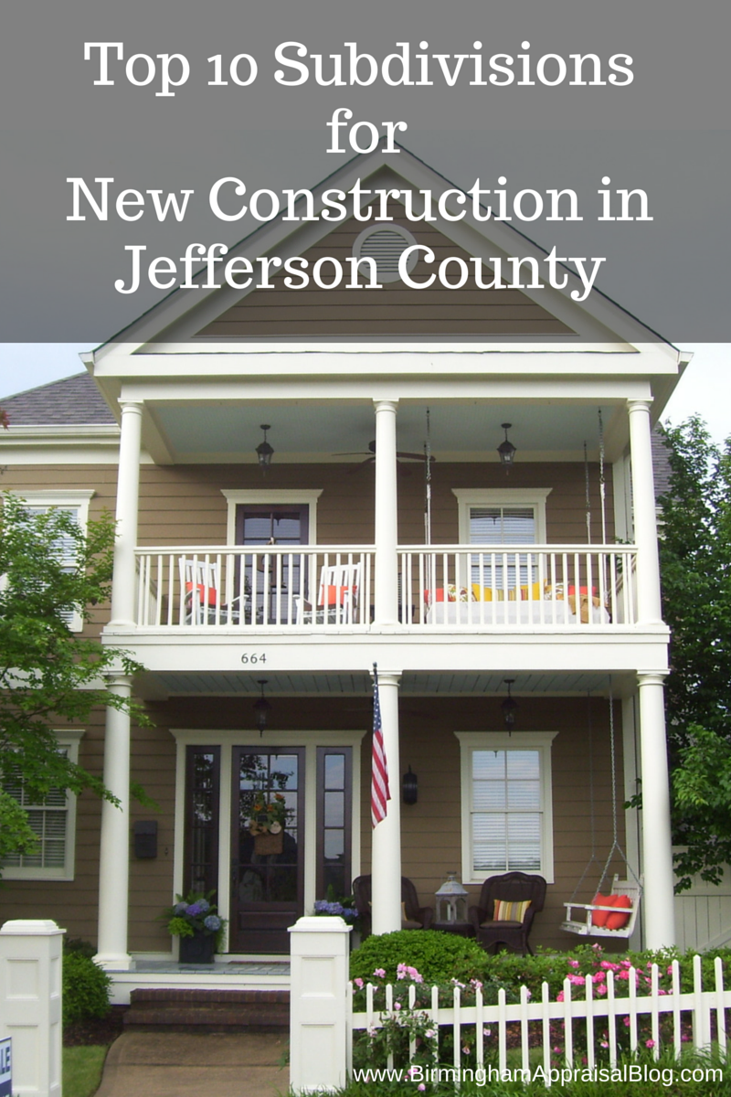 Top Subdivisions for New Construction in Jefferson County