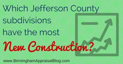 Which Jefferson County subdivisions have the most new construction?