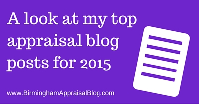 top appraisal blog posts for 2015