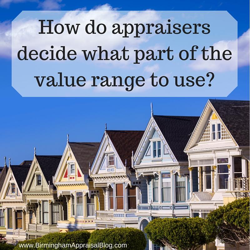 appraisers reconcile value