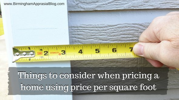 price per square foot (1)