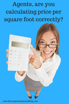 How Agents Should Calculate Price Per Square Foot