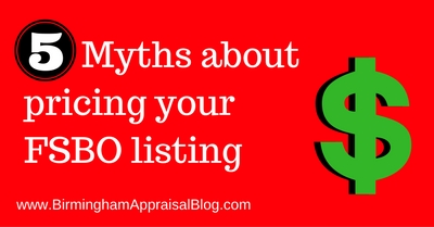 5 myths about pricing your FSBO listing