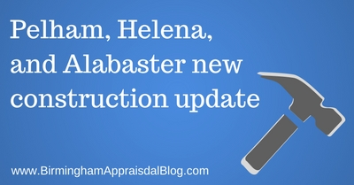 Pelham, Helena, and Alabaster new construction update