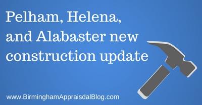 Pelham, Helena, and Alabaster new construction