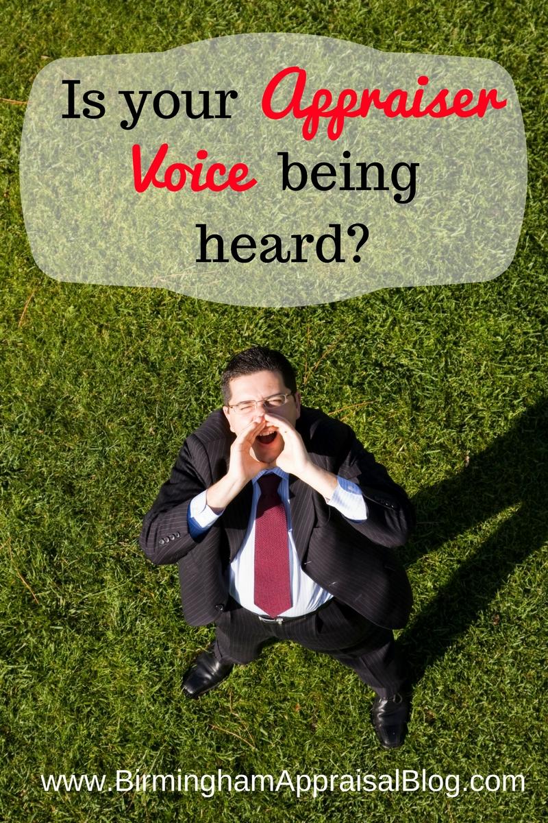 appraiser voice