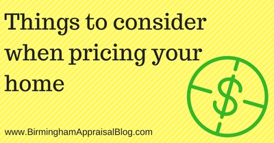 5 Things to consider when pricing your home in the current market