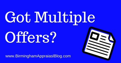 How agents can use multiple offers to help the appraiser