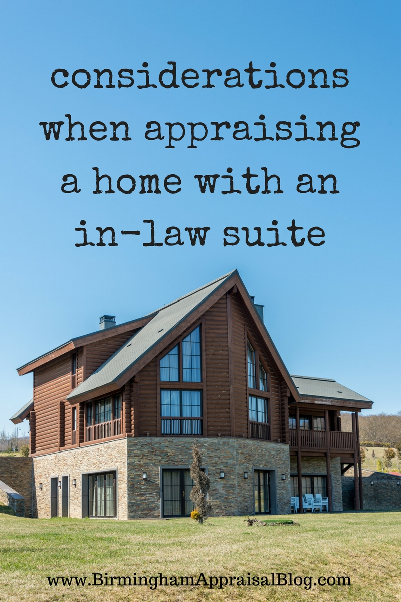 How do you appraise an in-law suite? • Birmingham Appraisal Blog