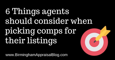 6 Things agents should consider when picking comps for their listings