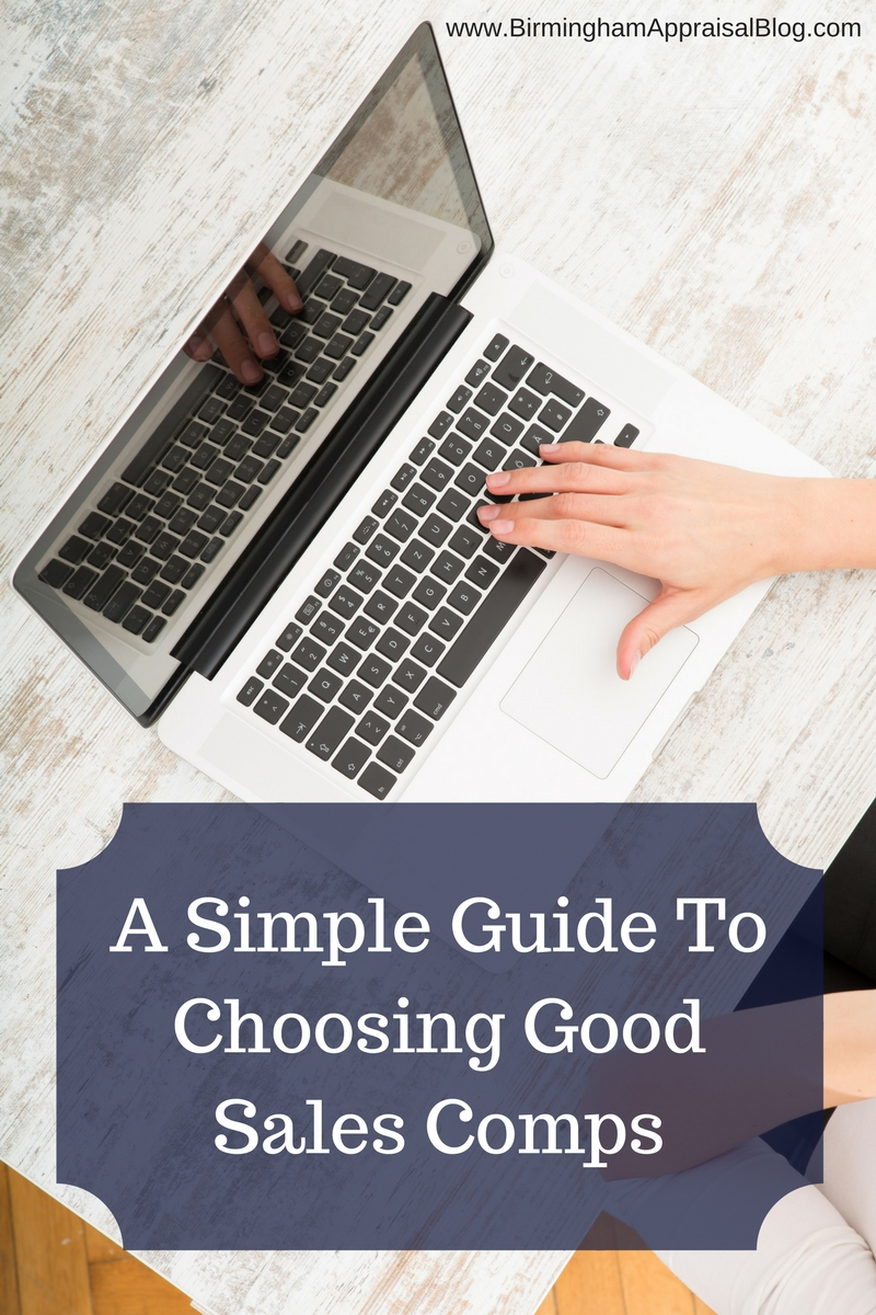 Simple guide to choosing a good sales comparable