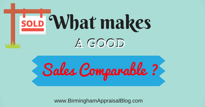 What makes a good sales comparable?