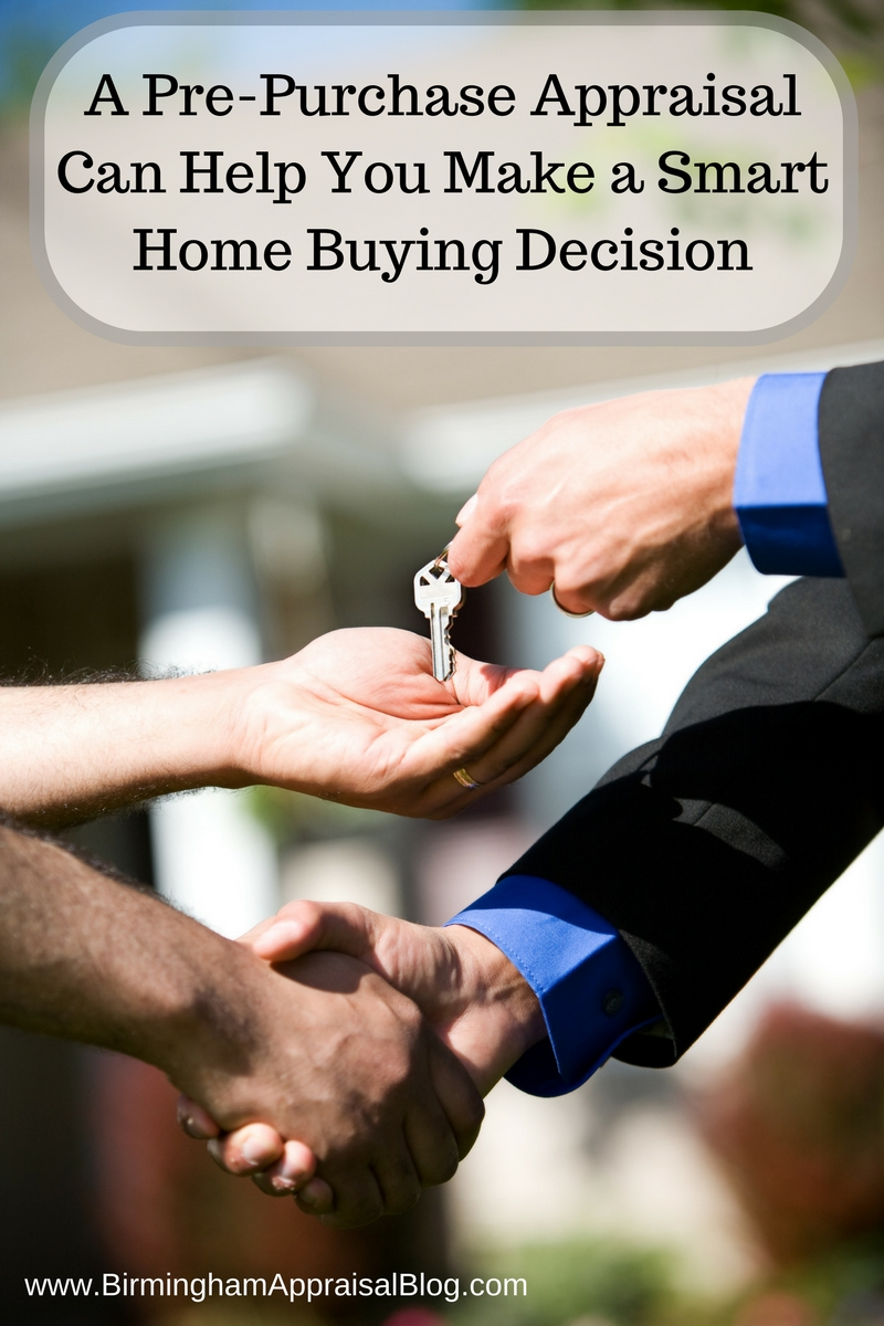 Pre-purchase appraisal
