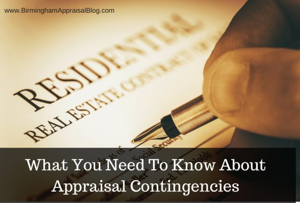 new appraisal contingency guidelines