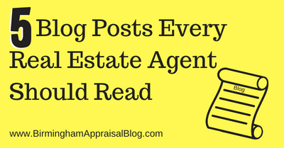 5 Appraisal Blog Posts Every Real Estate Agent Should Read