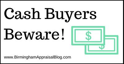 Cash Buyers Beware