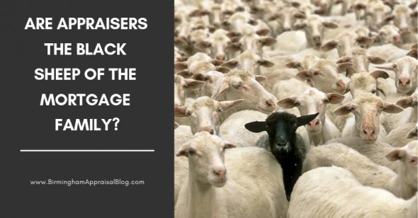 Are appraisers black sheep of mortgage family