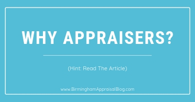 why we need appraisers