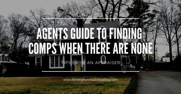 Real Estate Agents guide to finding comps