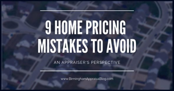 Home Pricing mistakes to avoid