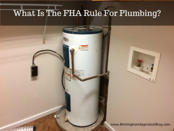 FHA Rule For Plumbing